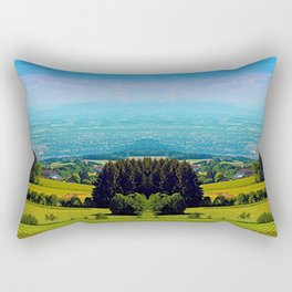 Urban and rural all together Rectangular Pillow