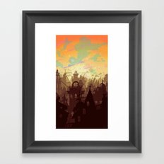 Waiting for the Day Framed Art Print