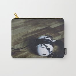 vintage headphone Carry-All Pouch