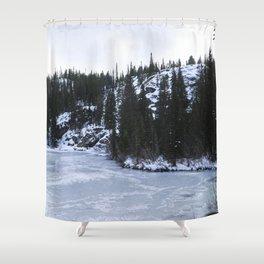 Bear Lake II Shower Curtain