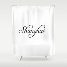 Shanghai Shower Curtain