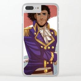 Lafayette! Clear iPhone Case