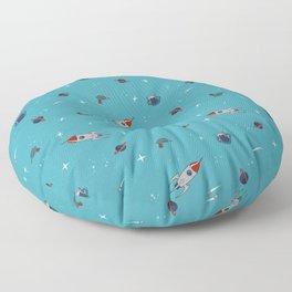 Spaceman. Floor Pillow