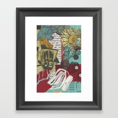 Pey Nun פנ Framed Art Print