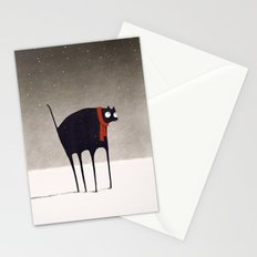 Snowfall Stationery Cards