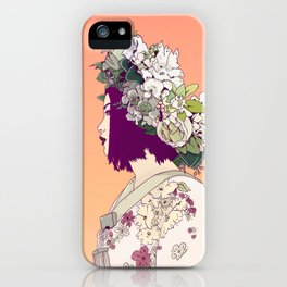 Geisha Under the Sun iPhone Case
