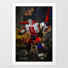 Red Alert, Roll Out!!! Art Print