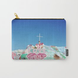 Salvation Mountain in the Californian Desert Carry-All Pouch