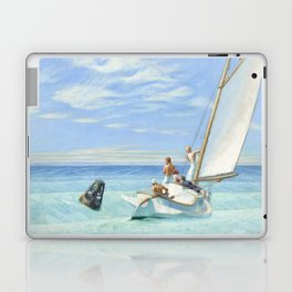 Edward Hopper Ground Swell 1939 Painting Laptop & iPad Skin