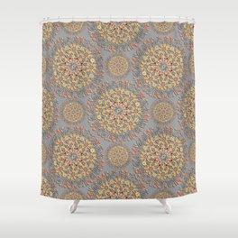 3d mandala Shower Curtain