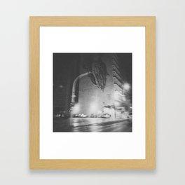 Praying Hand Framed Art Print