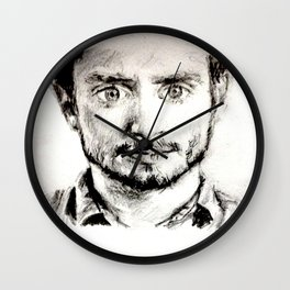 A LOOK OF SHOCK Wall Clock