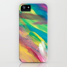 Abstract Artwork Colourful #2 iPhone Case