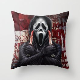 What's your favorite scary movie? Throw Pillow
