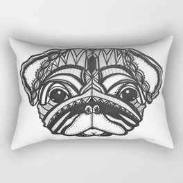 Doug the Pug Rectangular Pillow