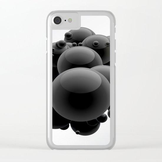 Bubbles Clear iPhone Case