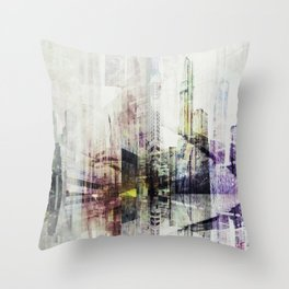 Abstract point of view ... Throw Pillow