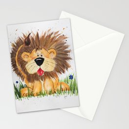 Lucas the Lion Stationery Cards