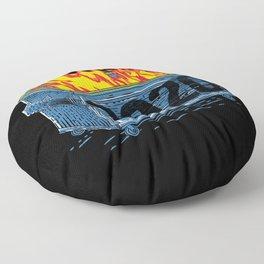 Dumpster Fire 2020 Floor Pillow