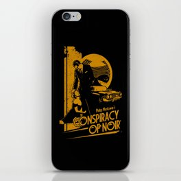 CONSPIRACY OF NOIR iPhone Skin