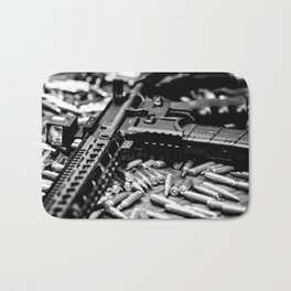 AR-15 Rifle Bath Mat