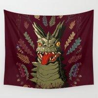 kaiju Wall Tapestries featuring Bemular by Jordan Lewerissa