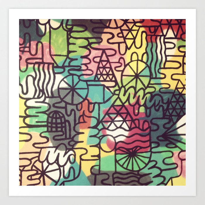 Street Art Prints Abstract