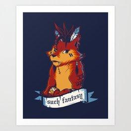 Such Fantasy Art Print