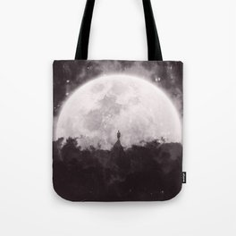 The Moon and I Tote Bag