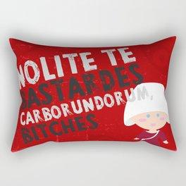 The handmaid´s tale Rectangular Pillow