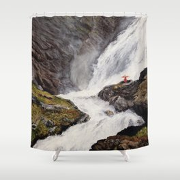 The Witch's Dance Shower Curtain