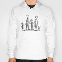 family Hoodies featuring Family by Moisés Ferreira