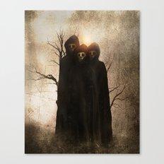 Darkness II Canvas Print