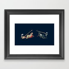 Foul! Framed Art Print
