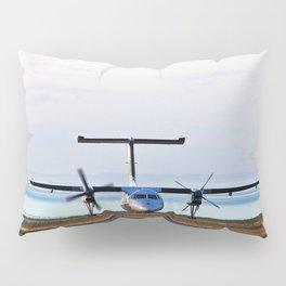 Plane Landing Pillow Sham