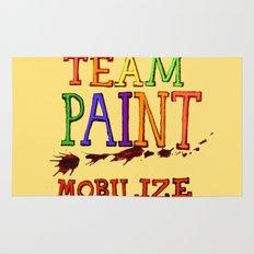 TEAM PAINT MOBILIZE Rug
