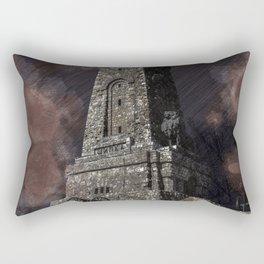 Shipka tower Bulgaria Rectangular Pillow