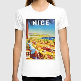 Vintage Nice Italy Travel T-shirt