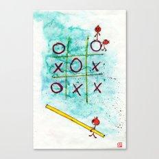 Tic Tac Toc Win Win! Canvas Print