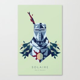 Solaire of Astora Canvas Print