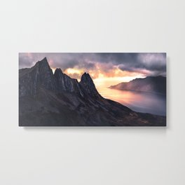 The Isle of Senja Metal Print