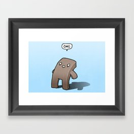 Oh The Humanity Framed Art Print