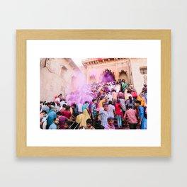 INDIA 44 Framed Art Print