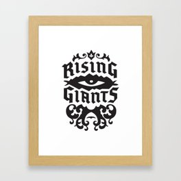 Rising Giants Framed Art Print