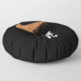 Just Eat It...spaguetti Floor Pillow