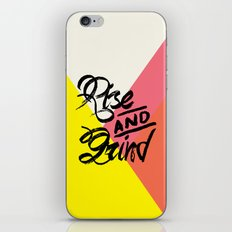 Rise & Grind iPhone & iPod Skin