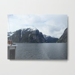 boat lookout Metal Print