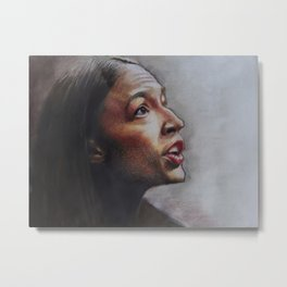 AOC - From Darkness to the Light Metal Print