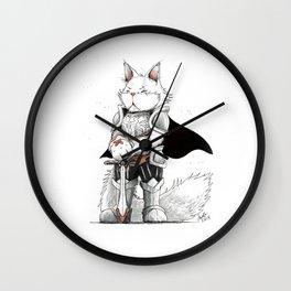 Paladin Turkish Angora Cat Wall Clock