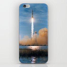 Apollo 8 - Saturn V Liftoff! iPhone Skin